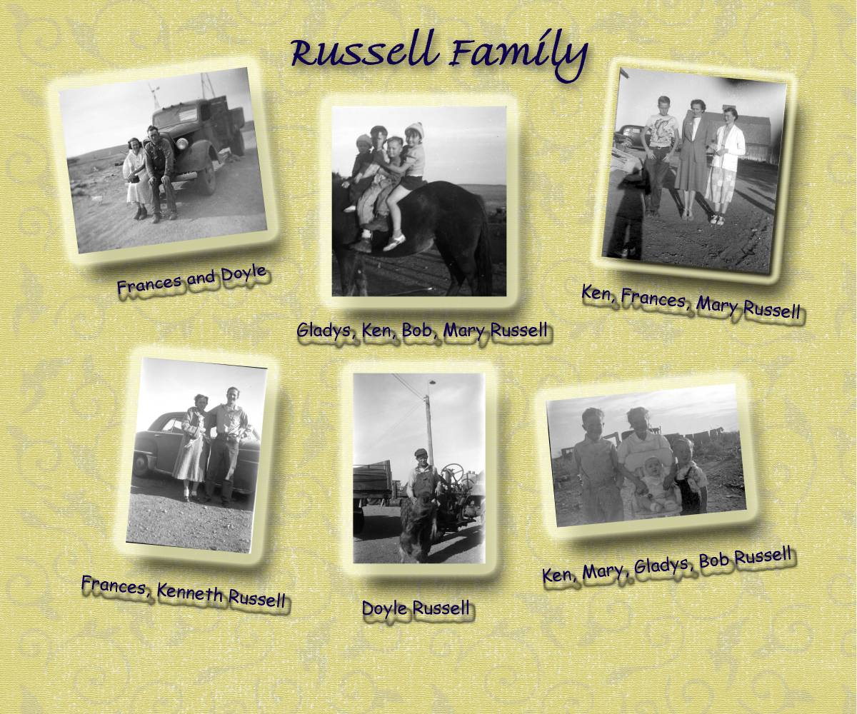 Russell Family Page 1