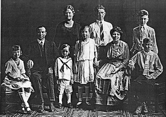 Petronia Galesky and family